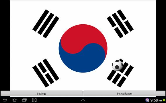 Korea Football Wallpaper screenshot 5