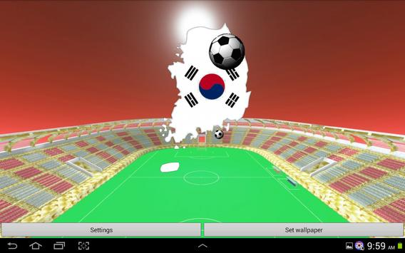 Korea Football Wallpaper screenshot 8
