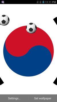 Korea Football Wallpaper poster