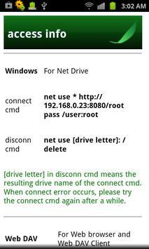 Bamboo Leaf - Wifi Disk screenshot 2