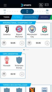 DIRECTV Sports captura de pantalla de la apk