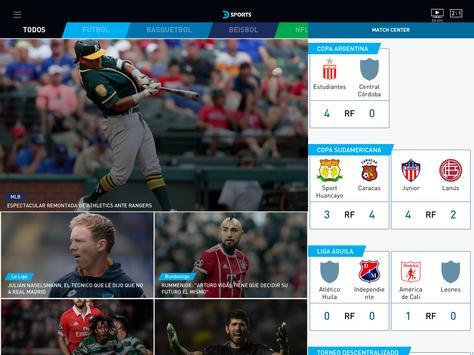 DIRECTV Sports captura de pantalla 4