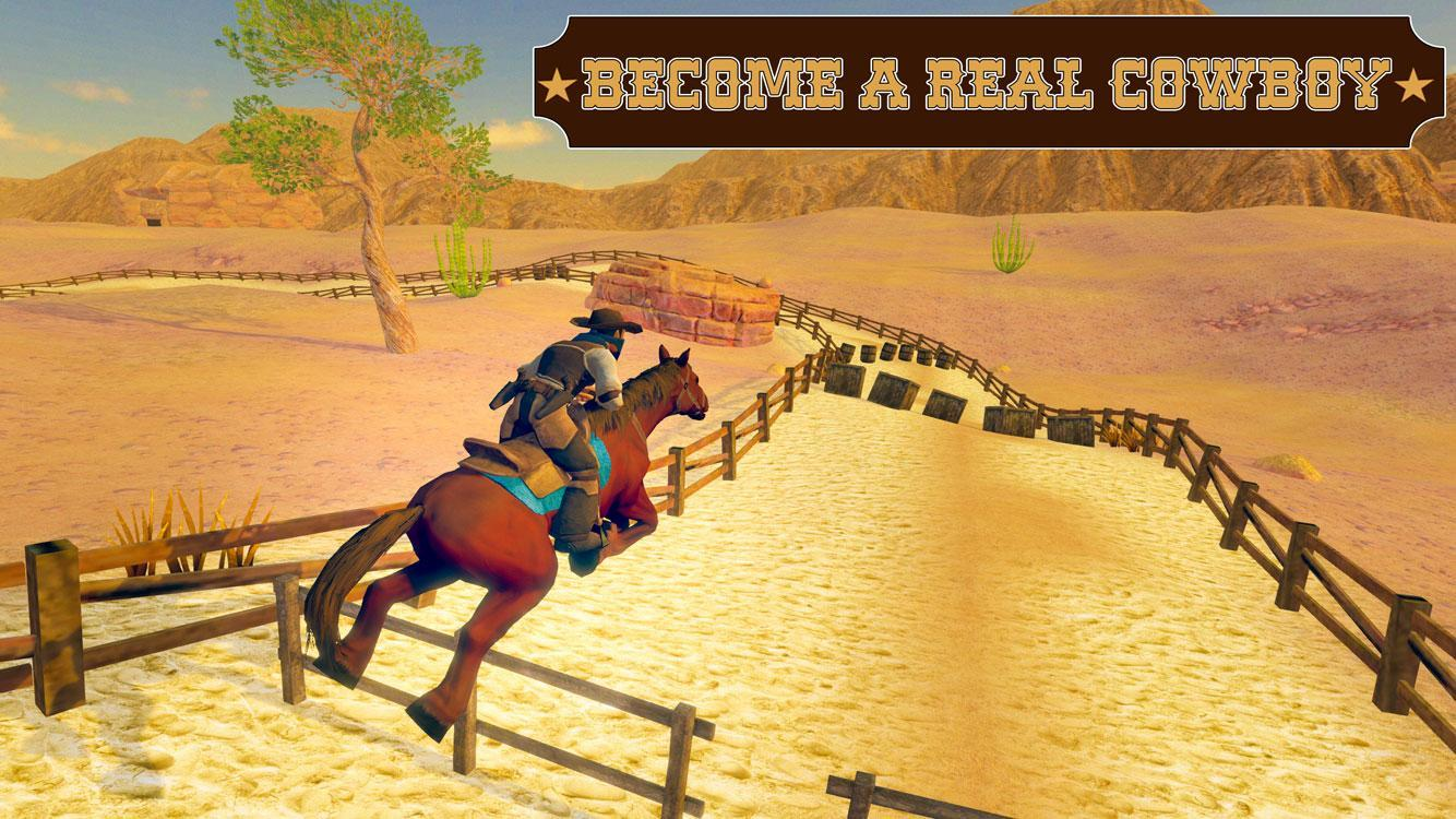 Wild West County Sheriff Horse Riding Simulator For Android Apk