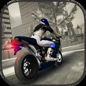 Snow Bike Rider City Madness icon
