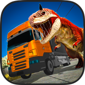 Jurassic Dino Transport Truck icon
