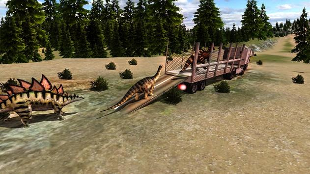Jurassic Dino Transport Truck apk screenshot