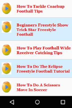 Football Tips for Beginners apk screenshot