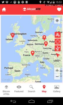 Bitcoin ATM Locator apk screenshot