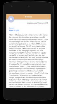 Alkitab : Bacaan Harian apk screenshot