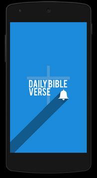 Daily Bible Verse English poster
