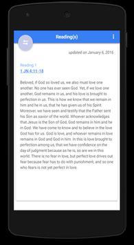 Daily Bible Verse English apk screenshot