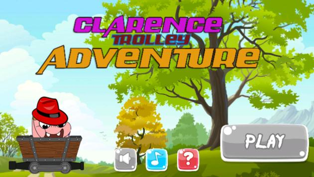 Klarence Trolley Adventure poster