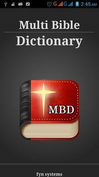 Bible Dictionary 8 in 1 free poster
