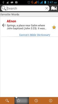 Bible Dictionary 8 in 1 free apk screenshot
