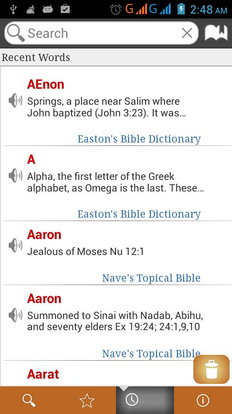 Bible Dictionary 8 in 1 free for Android - APK Download
