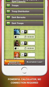 CoC Guide and Calculator apk screenshot