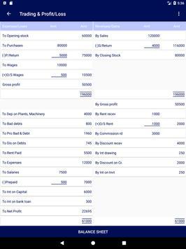 Final Accounts screenshot 8