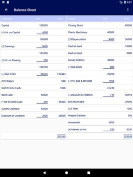 Final Accounts screenshot 9