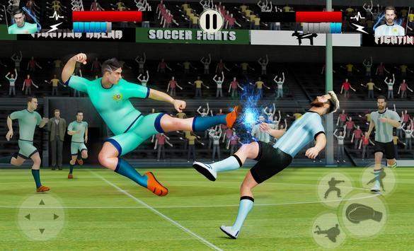 Kung Fu Football Fighting: Soccer Players 2018 screenshot 1