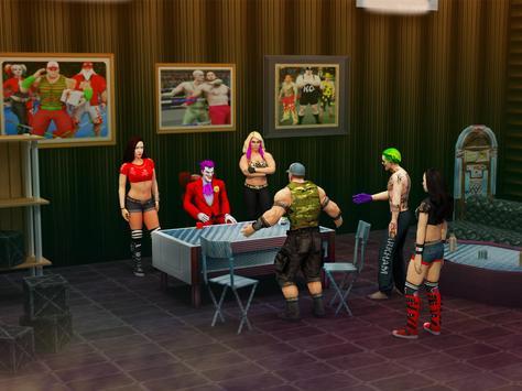 Wrestling Real Superstar: Extreme Fighting Games screenshot 7