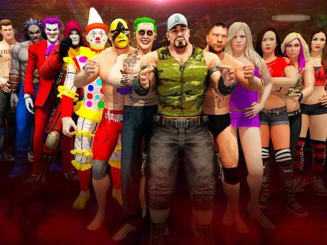 Wrestling Real Superstar: Extreme Fighting Games screenshot 14