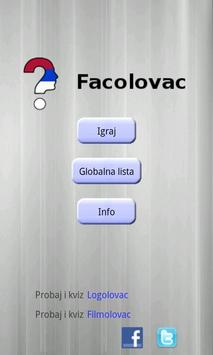 Facolovac poster