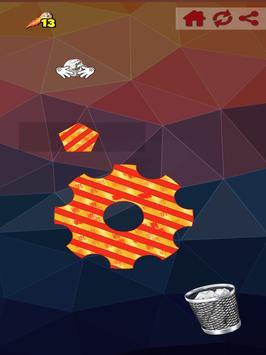 Paper Ball Tossing Flip Throwing to Bin Game screenshot 7