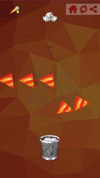 Paper Ball Tossing Flip Throwing to Bin Game screenshot 3