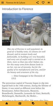 Florence Art & Culture screenshot 1