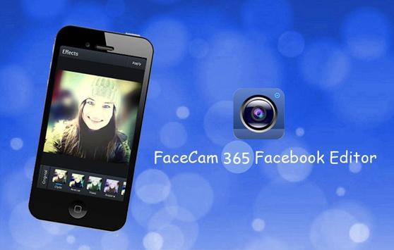 FaceCam 365  FB Editor poster