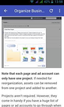 Guide for Facebook Business screenshot 2
