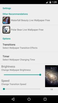 Galaxy Live Wallpaper Free apk screenshot