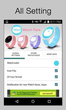 Meo Watch Face - Moto 360 apk screenshot