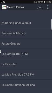 Mexico Radios poster