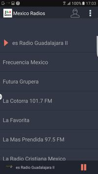 Mexico Radios screenshot 1