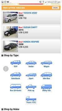Buy Used Cars from Japan apk screenshot
