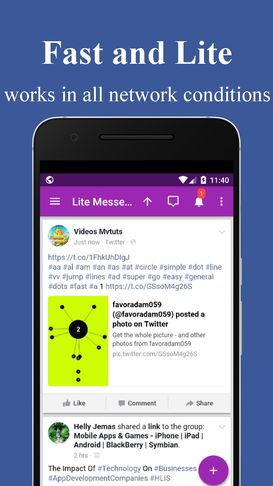 Lite Messenger for Android - APK Download