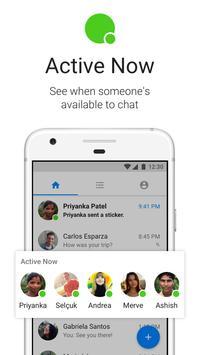 Messenger Lite: бесплатные звонки и сообщения скриншот приложения