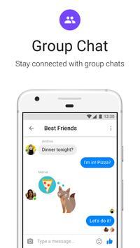 Messenger Lite: مكالمات ورسائل مجانية apk تصوير الشاشة