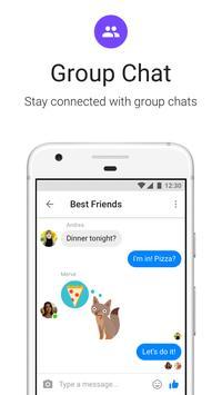 Messenger Lite:無料通話とメッセージ apk スクリーンショット