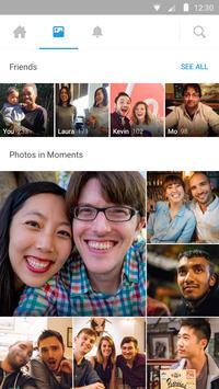 Moments captura de pantalla de la apk