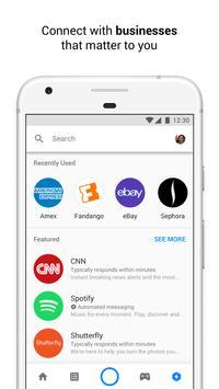 Messenger captura de pantalla de la apk