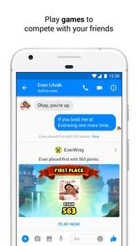 Messenger apk تصوير الشاشة
