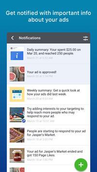 Anuncios de Facebook captura de pantalla de la apk