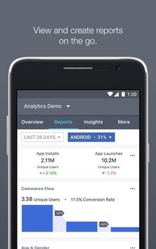 Facebook Analytics captura de pantalla 1