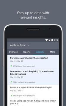 Facebook Analytics captura de pantalla 2