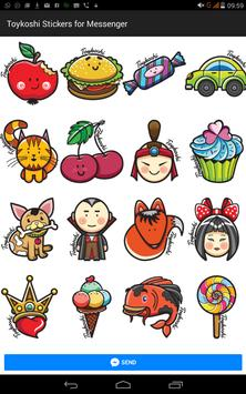 Toykoshi Sticker for Messenger apk screenshot