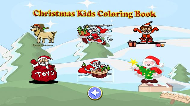 Christmas Kids Coloring Book screenshot 2