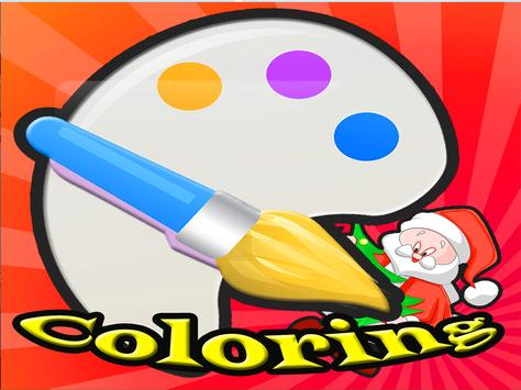 Christmas Kids Coloring Book screenshot 5