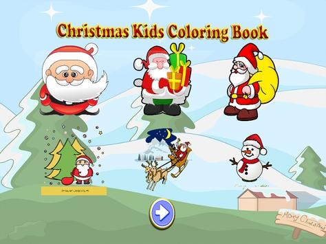 Christmas Kids Coloring Book screenshot 7